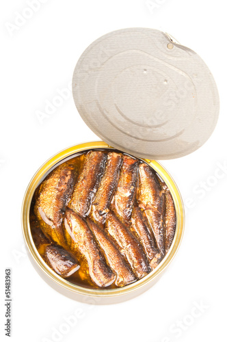 Sprats fish canned