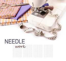 Needle work hobby background