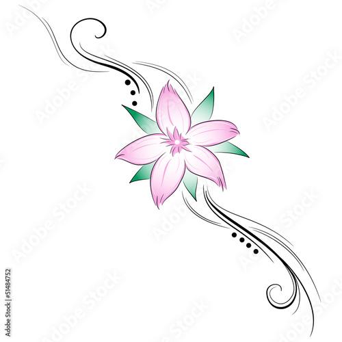 Quot Fiore Di Ciliegio Tattoo Quot Immagini E Vettoriali Royalty