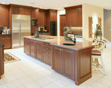 Kitchen in New Luxury Home