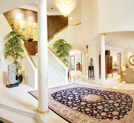 Entryway and Foyer in Luxury Home