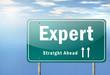 """Highway Signpost """"Expert"""""""