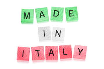 Made in italy - tricolore