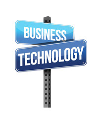 business technology sign