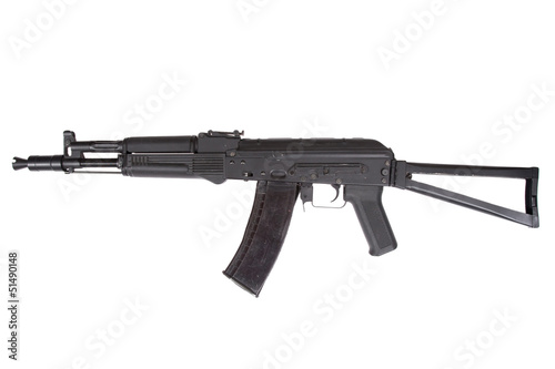 Kalashnikov AK105 modern assault rifle on white