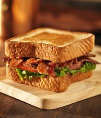 BLT bacon lettuce tomato sandwich