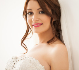 Beautiful Bride Smiling