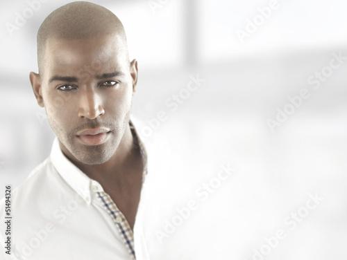 Male model head
