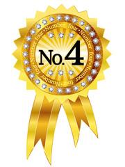 4 フレーム エンブレム メダル