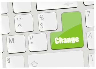 clavier change