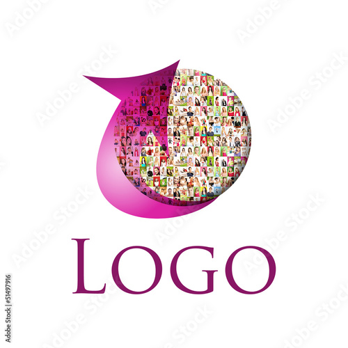 LOGO - Portrait of a lot of people