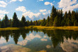 Teton Reflection in Grand Teton National Park