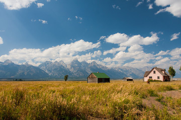 Mormon Row in Grand Teton National Park