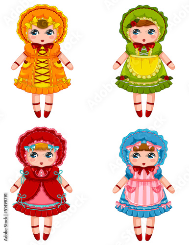 vintatge dolls collectiion
