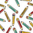 pencils background seamless