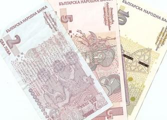 Bulgarian banknotes - 2, 5, 10 Bulgarian leva. Downside.
