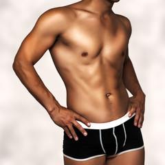 sexy underwear male model