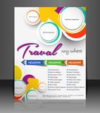 Fototapety traval Poster/flyer design