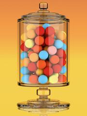 3d Candy jar