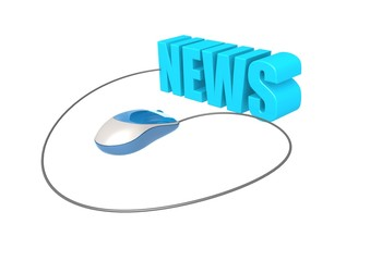 Computer mouse and news