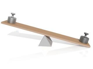 Física: balanza