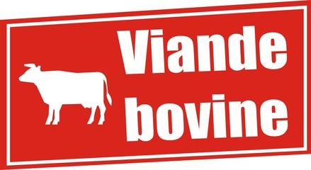 étiquette viande bovine
