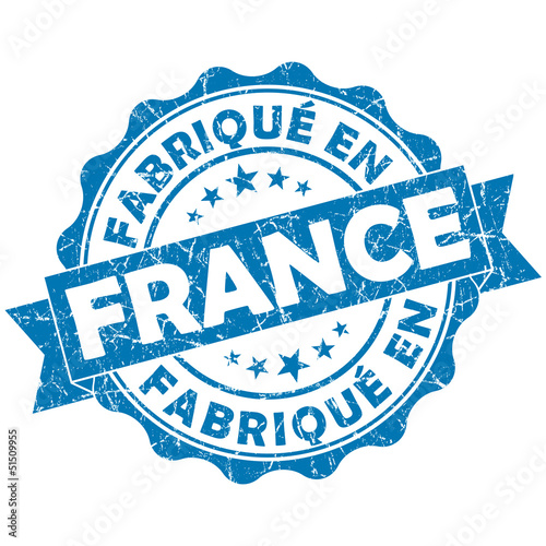 fabrique en france stamp