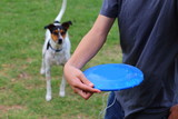 Throwing Frisbee