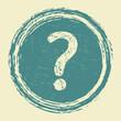 help, question grunge sticker