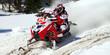 red & white skidoo