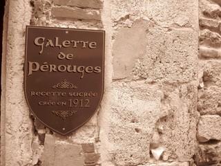 Galette de Pérouges (Vieux Pérouges, cité médiévale - Ain)