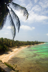 Iguana Beach Little Corn Island Nicaragua Central America on Ca
