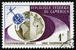 Postage stamp Cameroon 1963 Telstar and Globe