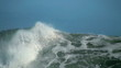 Big wave slow motion