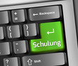 "Keyboard Illustration ""Schulung"""