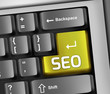 "Keyboard Illustration ""SEO - Search Engine Optimization"""
