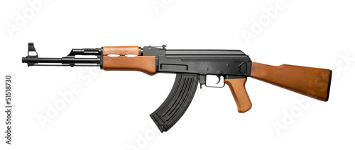 Leinwandbild Motiv Assault rifle AK-47