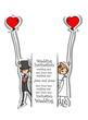 Постер, плакат: Мультфильм картину свадьбы