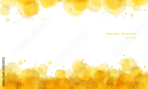 Abstract water color background vector.