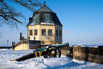 Koenistein castle, Saxony, Germany