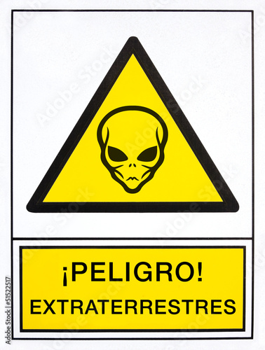 warning aliens signal