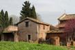 Maison et chapelle sur le mont Palatin