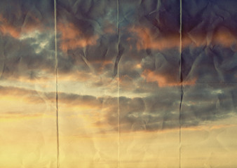 warm paper sky