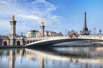 Pont Alexandre III et Tour Eeiffel