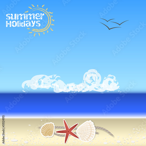 Summer Background - summer holidays