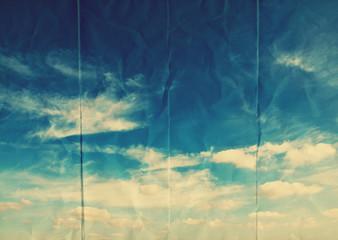 sky on paper