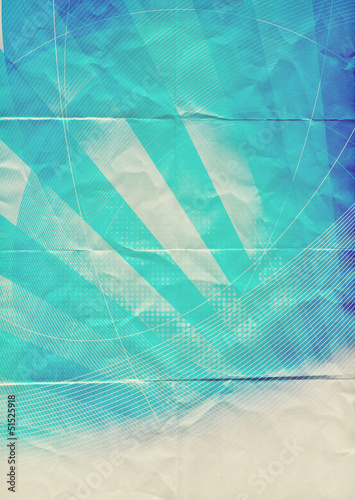 abstract blue paper pattern