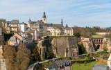View of Luxembourg old town