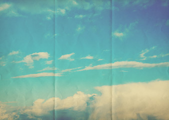faded sky paper