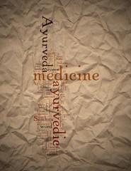 Ayurvedic Medicine System